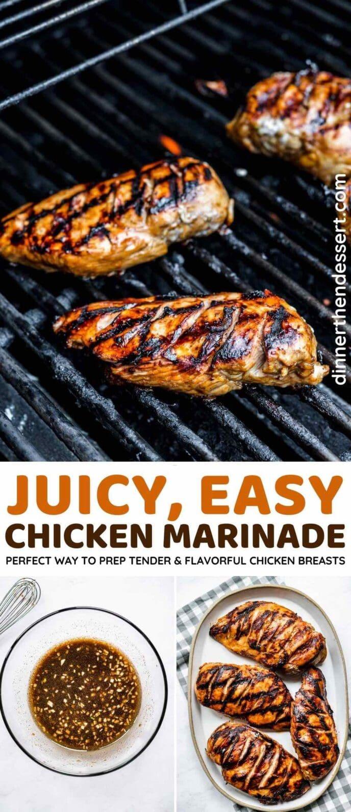 Chicken Marinade collage
