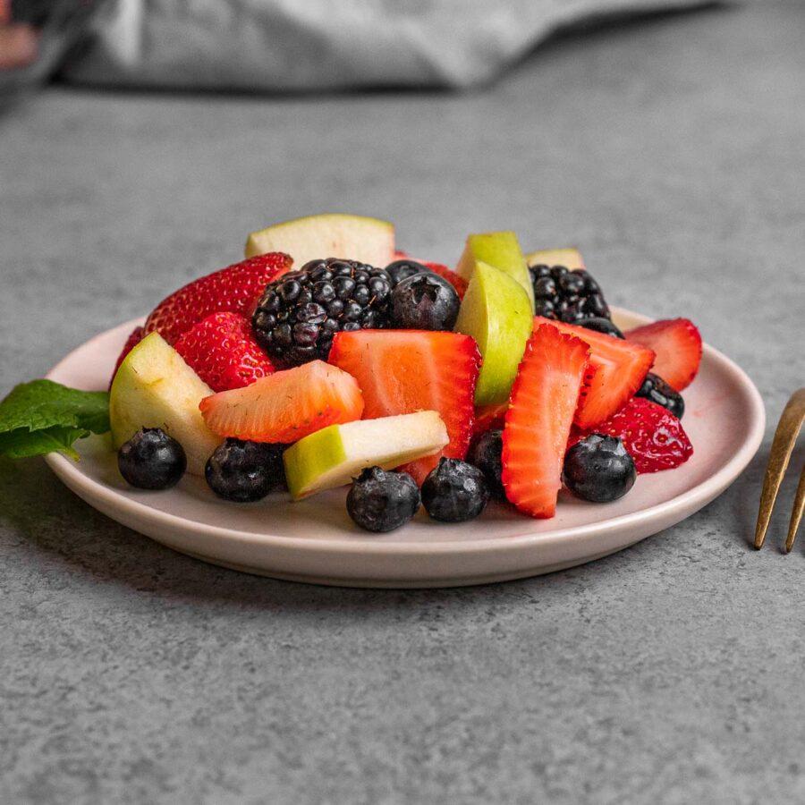 Honey Lime Berry Fruit Salad