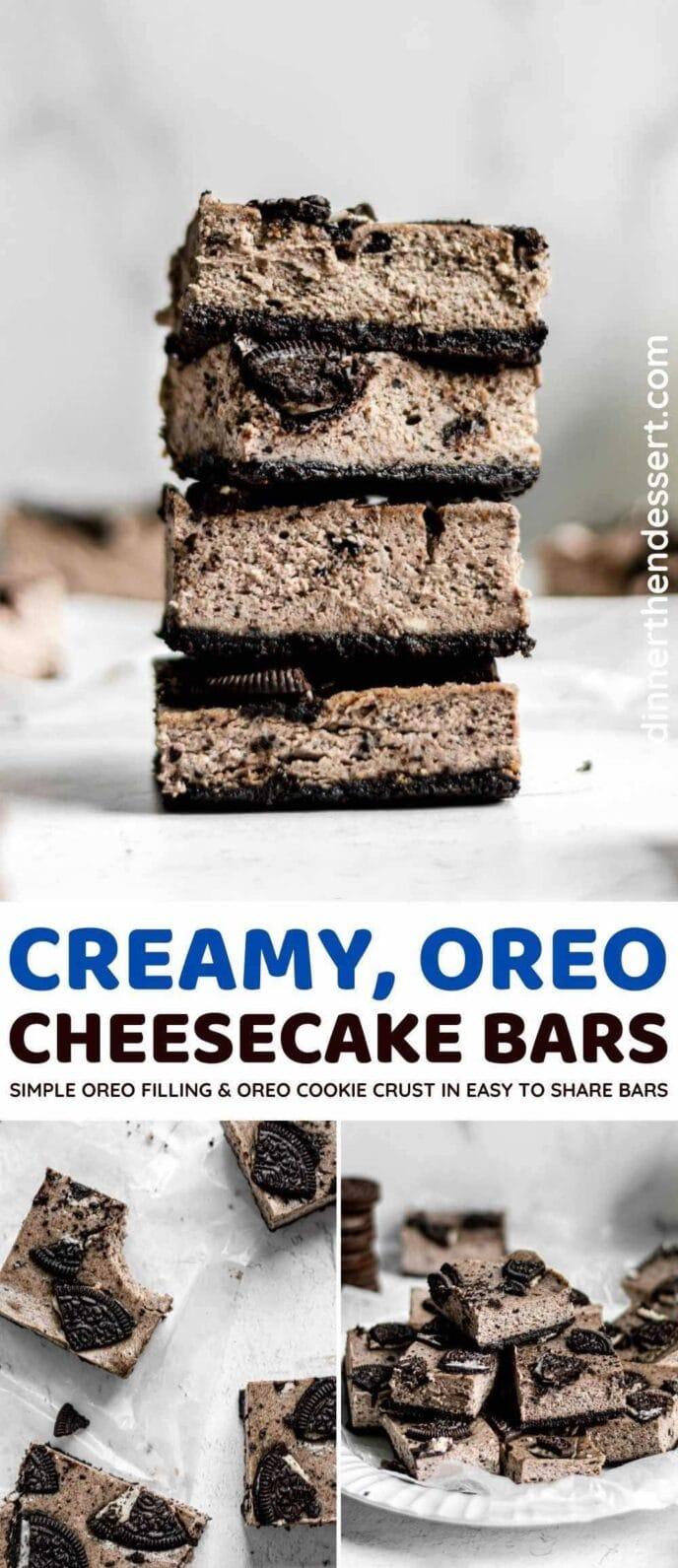 Creamy, Oreo Cheesecake Bars