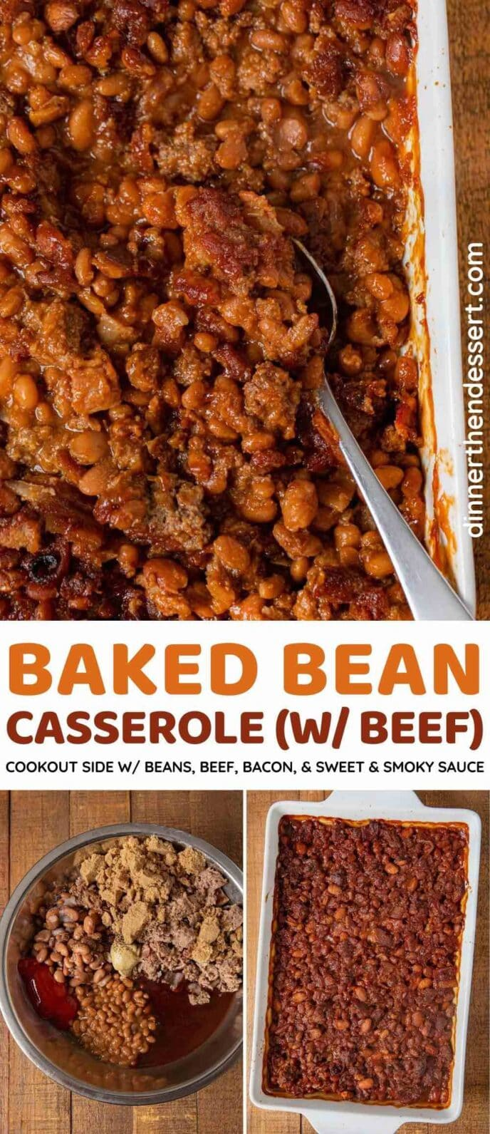 Baked Bean Casserole collage