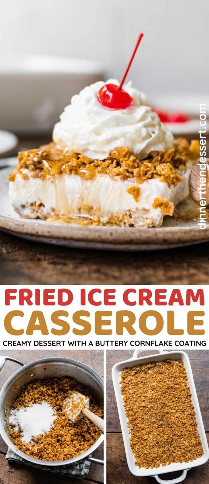 Fried Ice Cream Collage