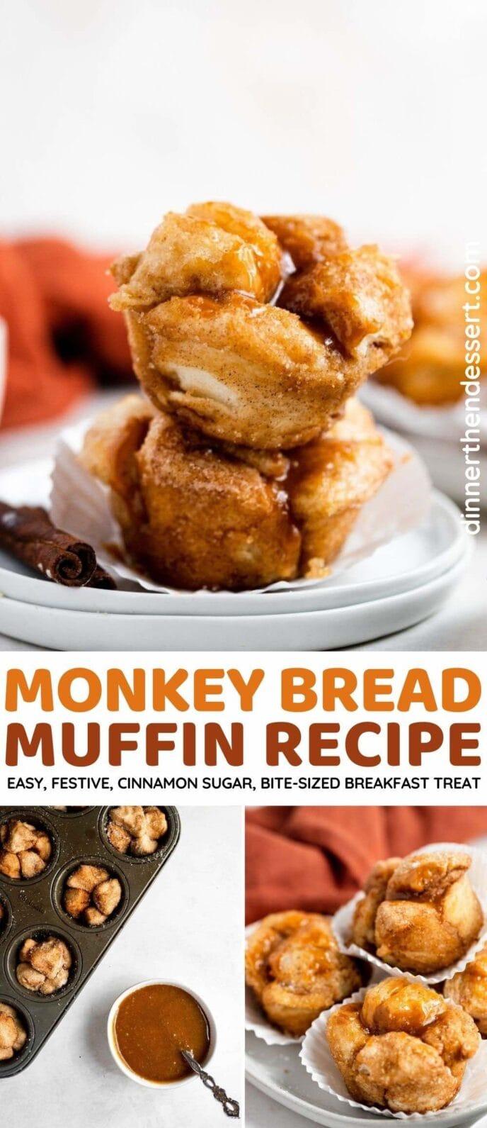 Monkey Bread Muffins collage