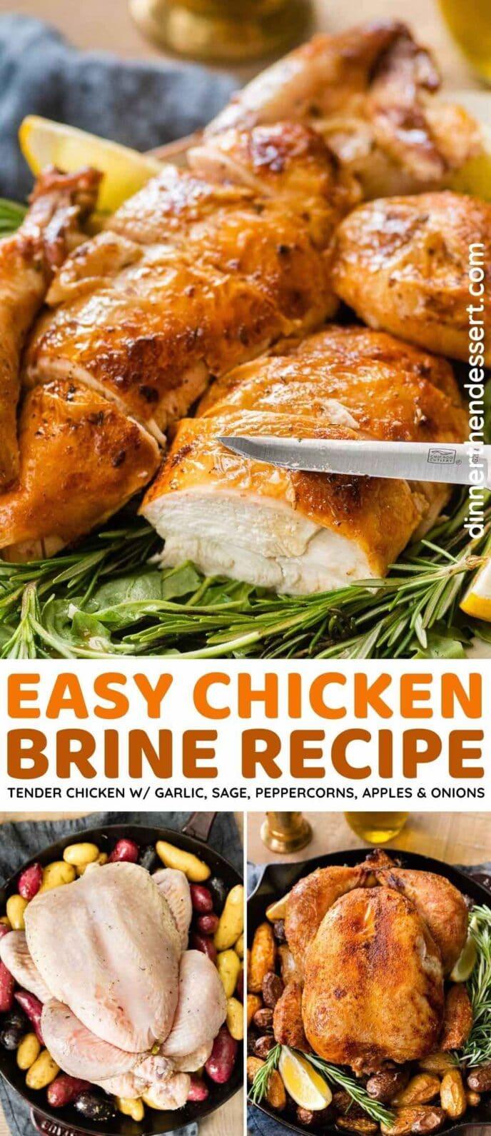 Chicken Brine collage