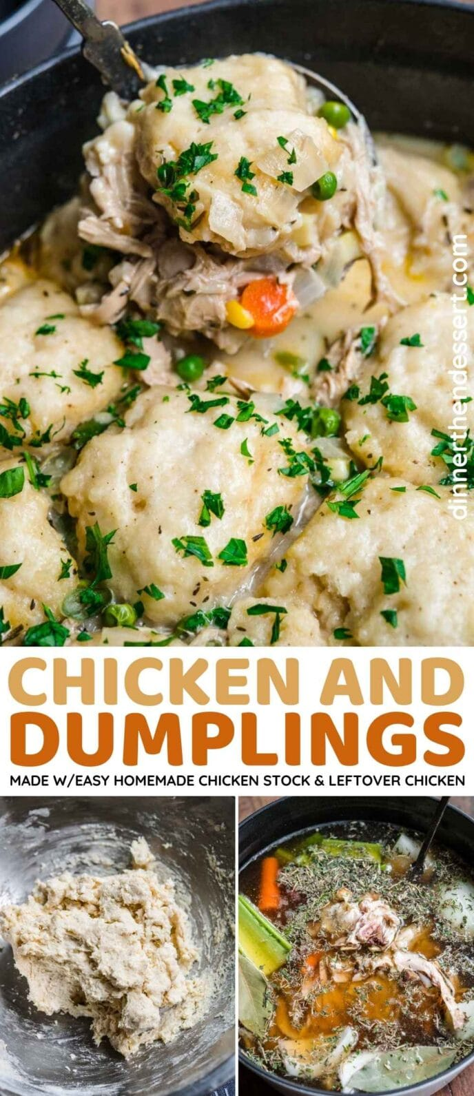 Chicken and Dumplings Collage