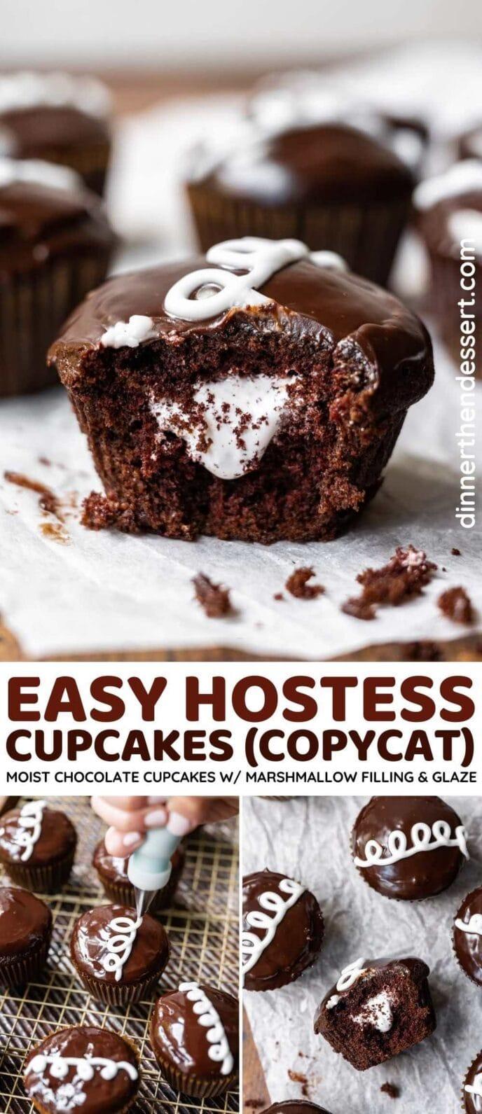 Hostess Cupcakes (Copycat) collage