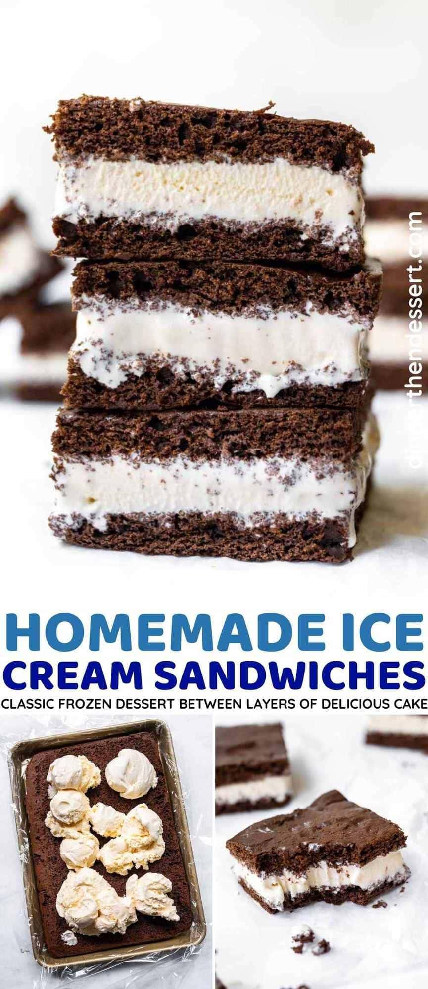 Ice Cream Sandwiches collage