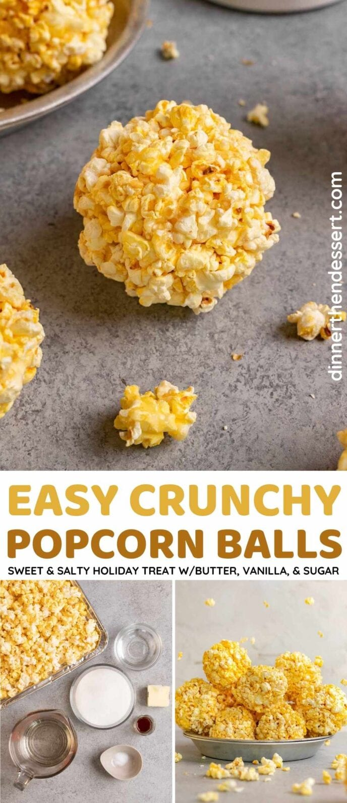 Popcorn Balls Collage