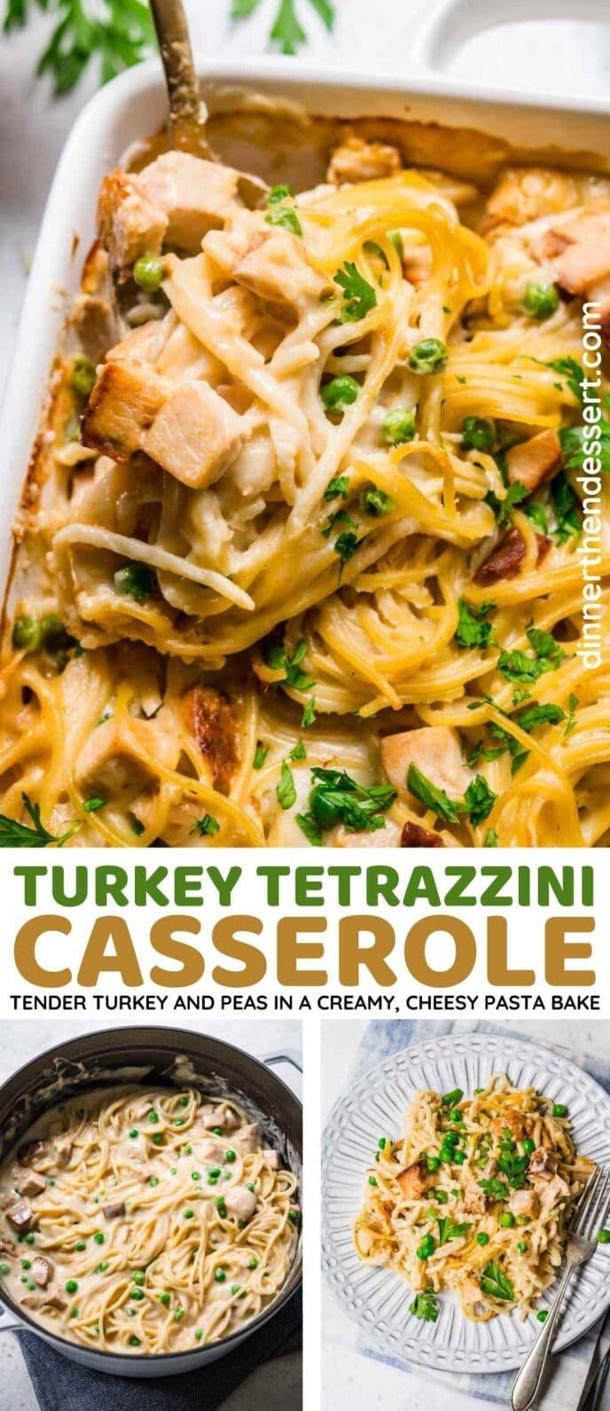 Turkey Tetrazzini Collage